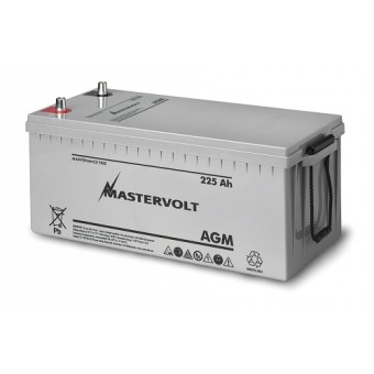 Mastervolt AGM 12V 225Ah Battery - Boating & Marine