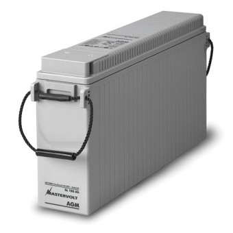 Mastervolt AGM SlimLine 12V 150Ah Battery - Boating & Marine