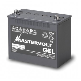Mastervolt MVG Gel Series 12V 55Ah Battery - Gel Deep Cycle Batteries