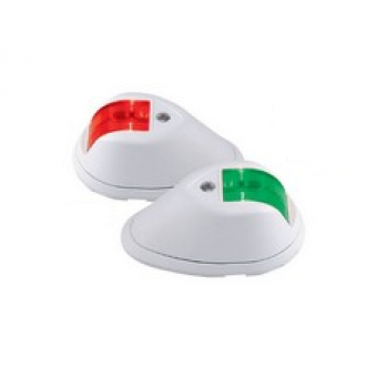 Perko P&S Side Mount Navigation Lights with Compact Low / Profile - Marine Navigation Lights