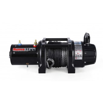 Runva 11XS Premium 12V Winch with Synthetic Rope - Caravan Hardware & Accessories