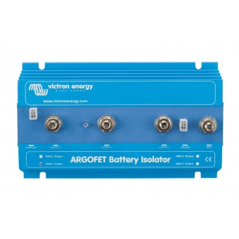 Victron Argofet 100A Two Batteries Isolator with AEI - Off Grid Battery Isolators & Combiners