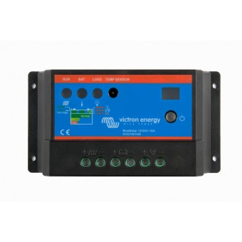 Victron BlueSolar PWM-Light Charge Controller 12/24V-10A - Off Grid Solar Charge Controllers