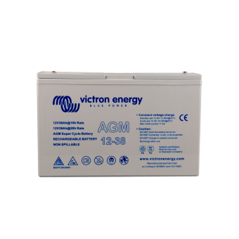 Victron 12V/38Ah AGM Super Cycle Battery - Off Grid Batteries
