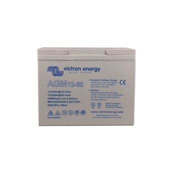 Victron 12V/60Ah AGM Super Cycle Battery - Off Grid Batteries