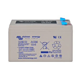 Victron 12V/8Ah AGM Deep Cycle Battery - Off Grid Batteries