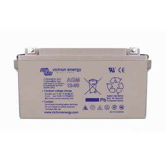 Victron 12V/60Ah AGM Deep Cycle Battery - Off Grid Batteries