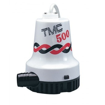 TMC Heavy Duty Electric Submersible Bilge Pumps - 31.5l/m / 500gph - Boating Pumps