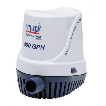 TMC Auto-Eye Fully Automatic Bilge Pump - 500GPH 12V - Root Catalog