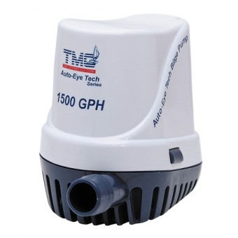 TMC Auto-Eye Fully Automatic Bilge Pump - 1500GPH 12V - Root Catalog