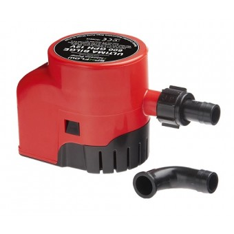 SPX Flow Ultima Bilge Pump With Integrated Switch, 1000 gph - Boating & Marine