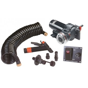 SPX Flow Aqua Jet Wash Down Pump Kit - 5.2 12V - Boating & Marine
