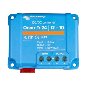 Victron Orion-Tr 24/12V 10A DC to DC Converter Non Isolated, Low Power - Boating & Marine