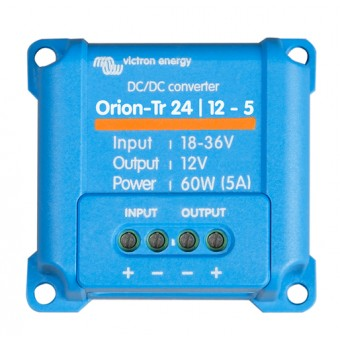 Victron Orion-Tr 24/12V 5A DC to DC Converter Non Isolated, Low Power - Off Grid DC to DC Converters