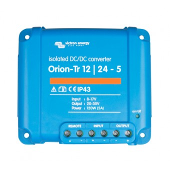 Victron Orion-Tr 12/24V 5A DC to DC Converter with Galvanic Isolation - DC to DC Converters