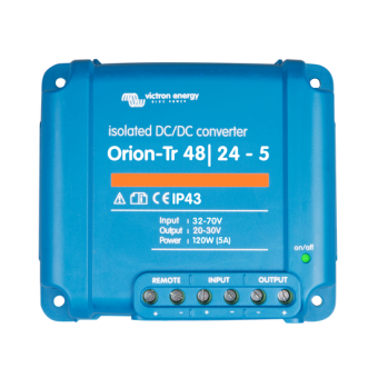 Victron Orion-Tr 48/24V 5A DC to DC Converter with Galvanic Isolation - DC to DC Converters