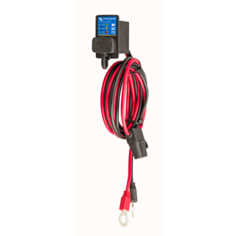 Victron Battery Indicator Panel (M8 eyelet connector / 30A ATO fuse) - Vehicle & Towing Accessories