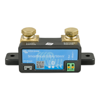Victron SmartShunt 500A/50mV - Battery Monitors