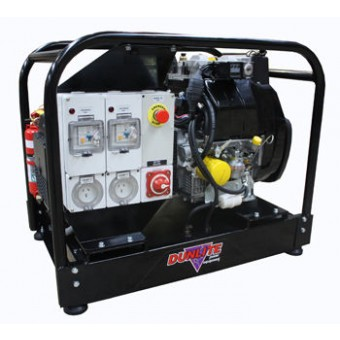 Dunlite 6.8kVA Mine Spec Generator, Yanmar Engine - Mine Specification Diesel Generators