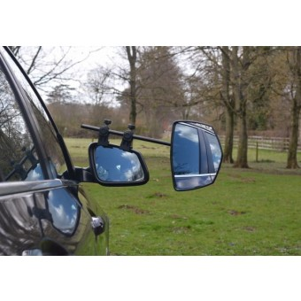 Milenco Grand Falcon Mirror Twin Pack Convex - Caravan Mirrors