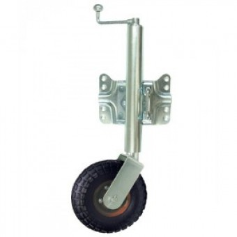 BLA Jockey Wheel - Swing Away, Pneumatic Wheel - Boating & Marine