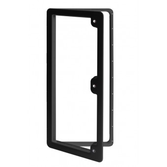 Thetford Service Door Model 6, Black - Caravan Hardware & Accessories