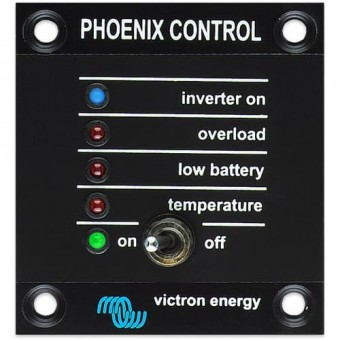 Victron Phoenix Inverter Control - Battery Extras