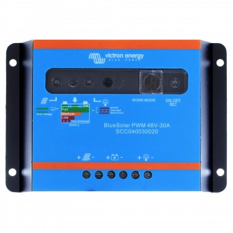 Victron BlueSolar PWM-Light Charge Controller 48V-10A - Off Grid Solar Charge Controllers