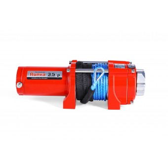 Runva 3.5P Winch with Synthetic Rope - Caravan Hardware & Accessories