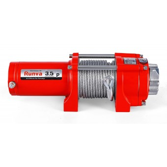 Runva 3.5P Winch with Steel Cable - Caravan Hardware & Accessories