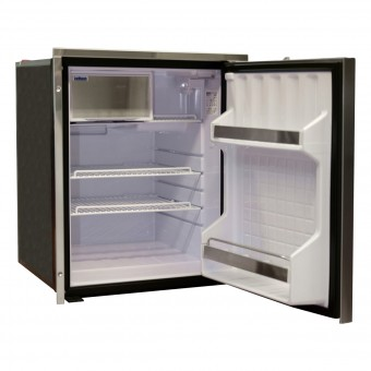 Isotherm Inox Clean Touch 85 Litre Stainless Steel Compressor Refrigerator - Root Catalog