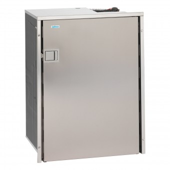 Isotherm Cruise Inox 130 Litre Stainless Steel Compressor Refrigerator, Left Hand Hinge - Root Catalog