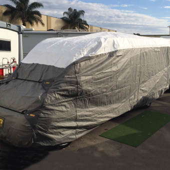 ADCO Class C Motorhome Cover 23-26' (7000-7900mm) - Root Catalog