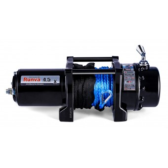 Runva 4.5X Winch with Synthetic Rope - Caravan Hardware & Accessories