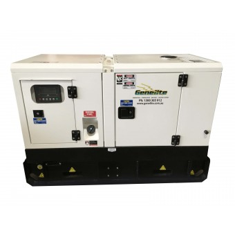 Genelite Heavy Duty 11kVA Single Phase Diesel Kubota Generator - Stationary Generators