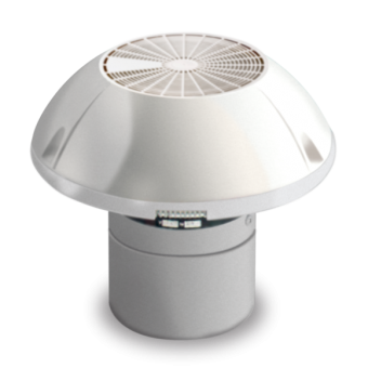 Dometic GY11 RV Roof Ventilator with Motor, Two Speed Fan - Caravan Rangehoods