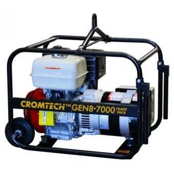 Cromtech Honda 6.4kVA Worksite Approved Generator - Root Catalog