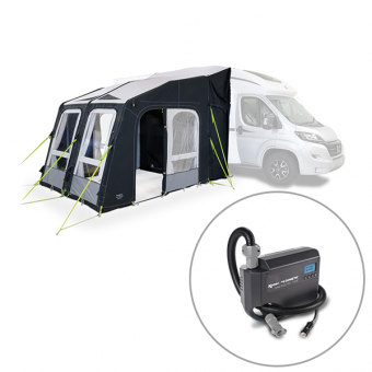 Dometic Rally Air Pro 260 D/A Inflatable Driveaway Awning - Caravan Annexes