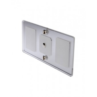 Thunder Rectangular LED Interior Mirror Light - Caravan Lights & Switches