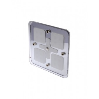 Thunder Square LED Interior Mirror Light - Caravan Lights & Switches