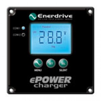 Optional Remote Control for Enerdrive ePOWER AC Chargers - Caravan Electrical