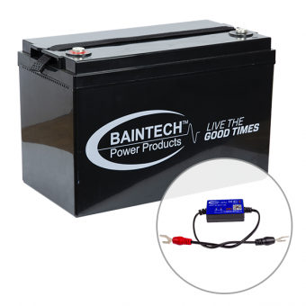 Baintech 12V 110Ah Deep Cycle Battery - SALE