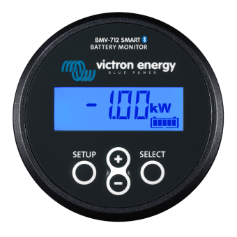 Victron Battery Monitor BMV-712 Smart Black - Off Grid Battery Monitors