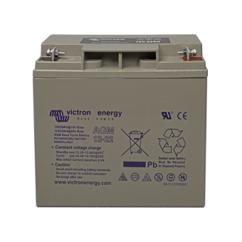Victron 12V/22Ah AGM Deep Cycle Battery - AGM Deep Cycle Batteries