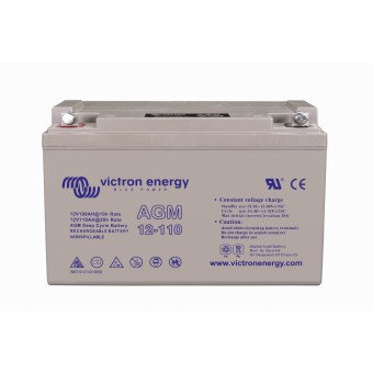 Victron 12V/110Ah AGM Deep Cycle Battery - Off Grid Batteries