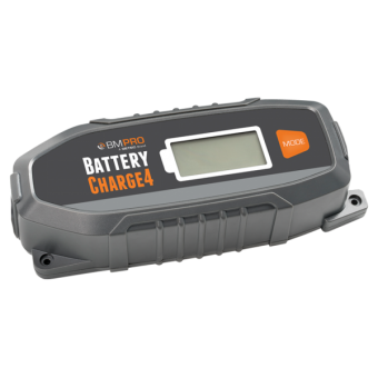 BMPRO 4A 6/12V Automatic Battery Charger - Root Catalog