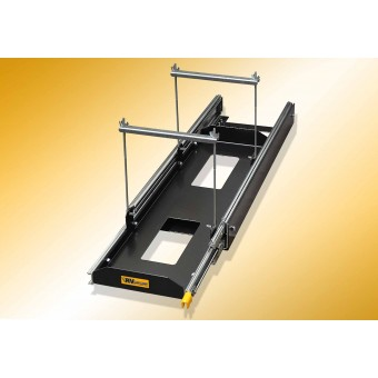 RV Storage Solutions Universal Battery Access Slide to suit Batteries with restraints - Root Catalog