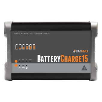 BMPRO 15Ah 12V Automatic Battery Charger - Root Catalog