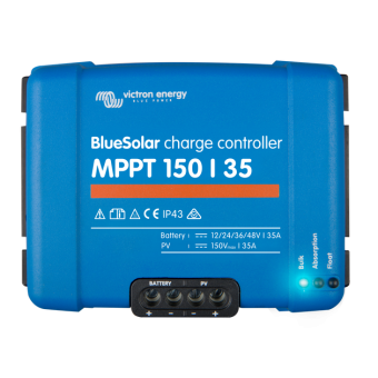 Victron BlueSolar MPPT Charge Controller 150/35 - Root Catalog