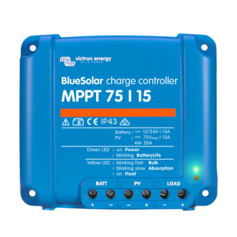 Victron BlueSolar MPPT Charge Controller 75/15 - 12/24V - Root Catalog